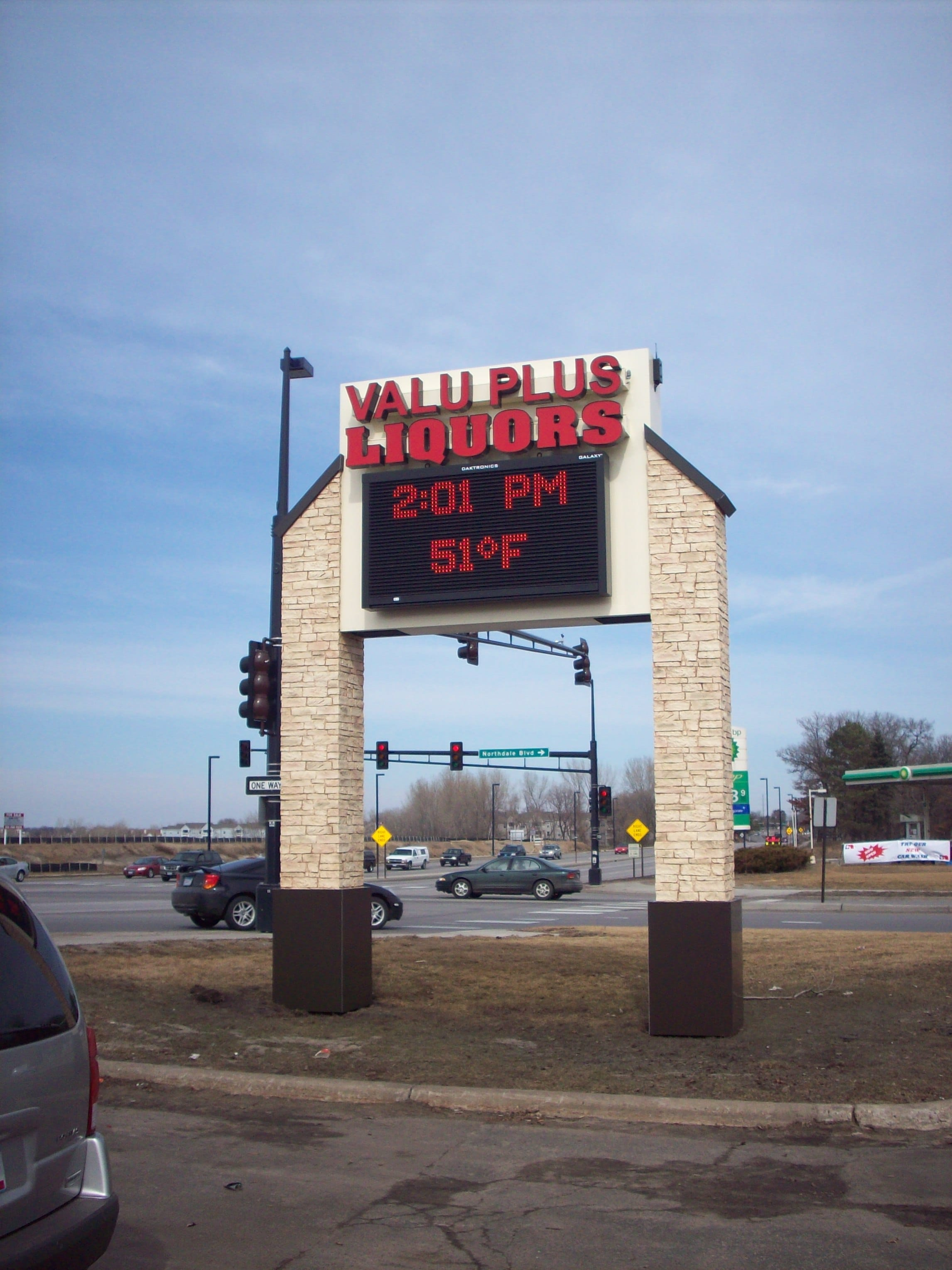 Digital Message Center Sign Design and Installation near Minneapolis-StPaul MN - DeMars Signs in Coon Rapids, MN