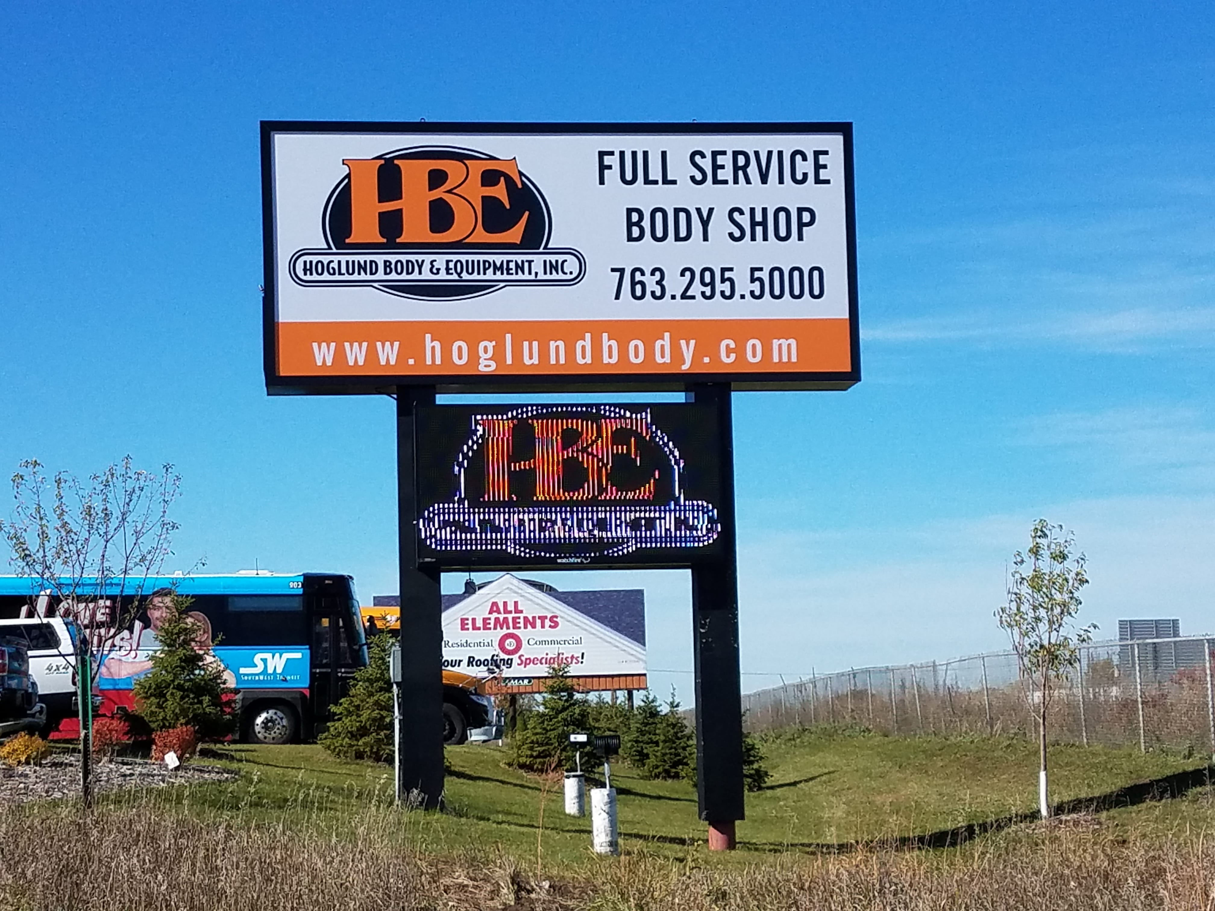 Digital Message Center Sign Maker near Minneapolis - DeMars Signs in Coon Rapids