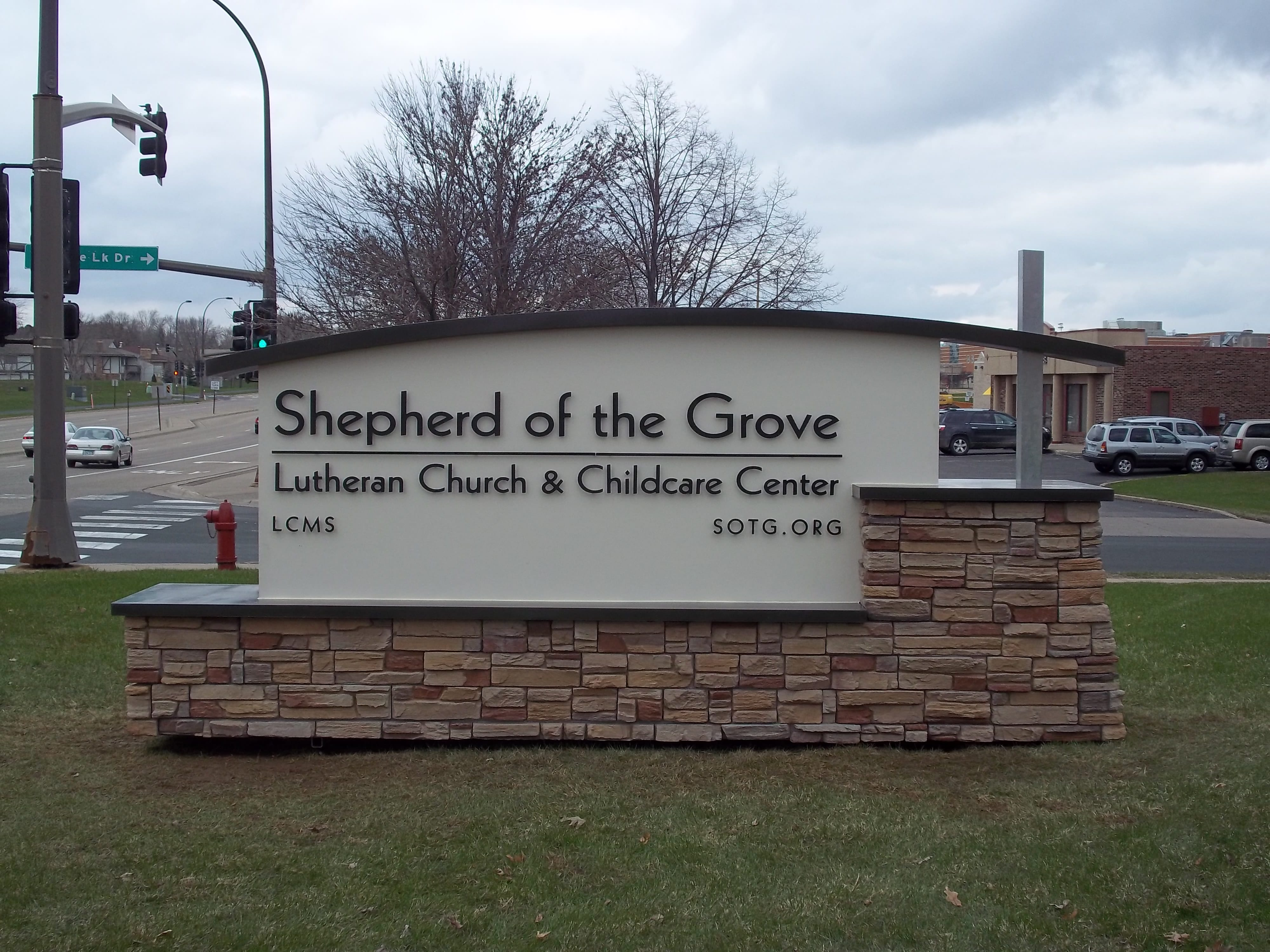 Lutheran Chruch Sign Company in Maple Grove MN - DeMars Signs in Coon Rapids Minnesota