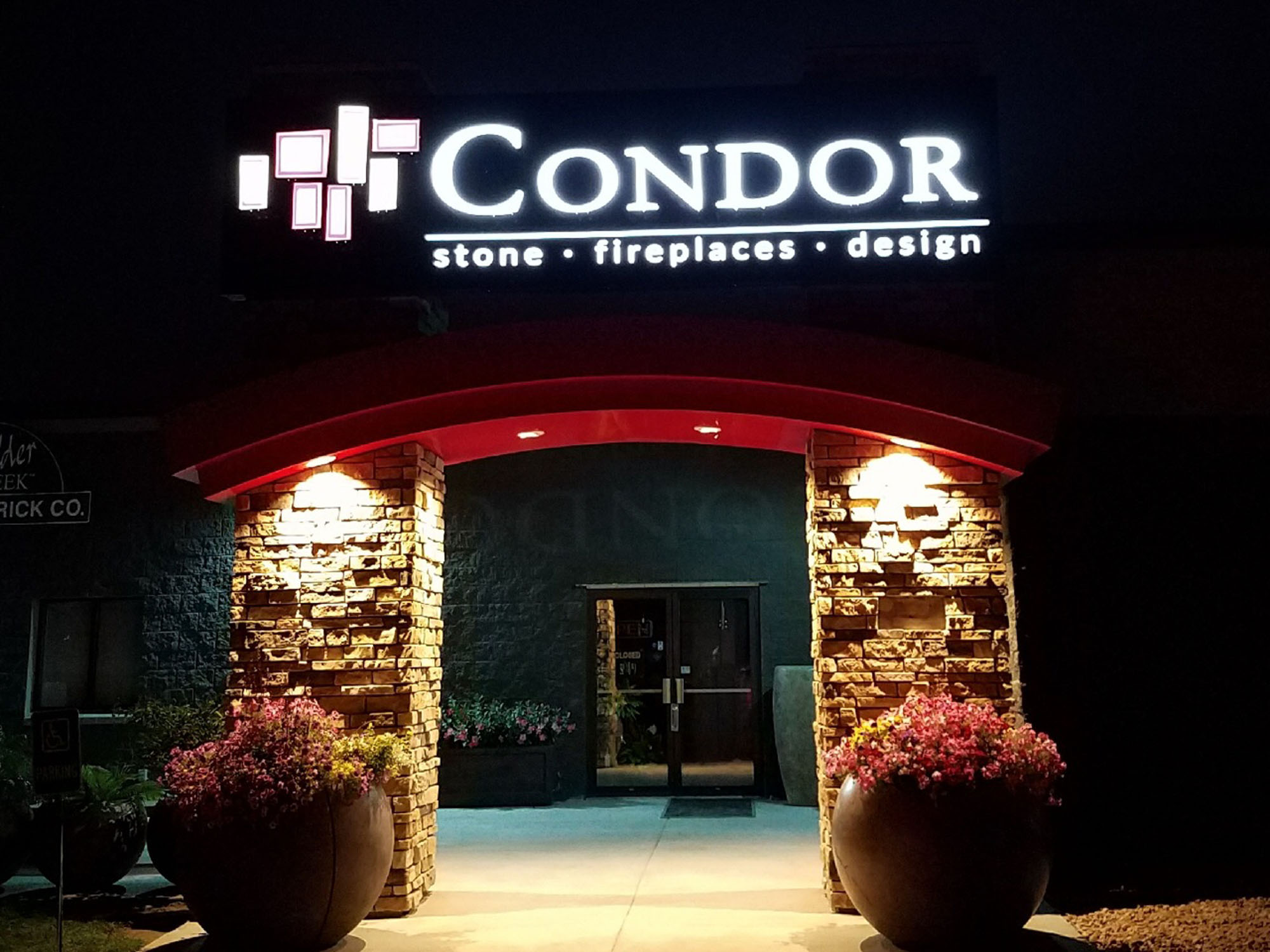 CondorNight LED Sign by DeMars Signs