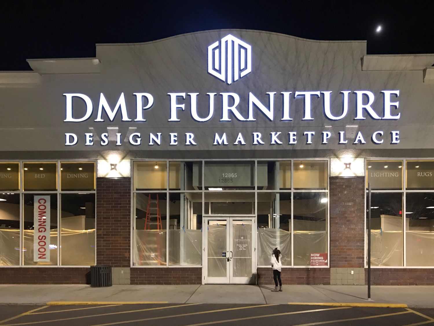 Illuminated Channel Letter Business Signs - DeMars Signs Twin Cities Sign Company