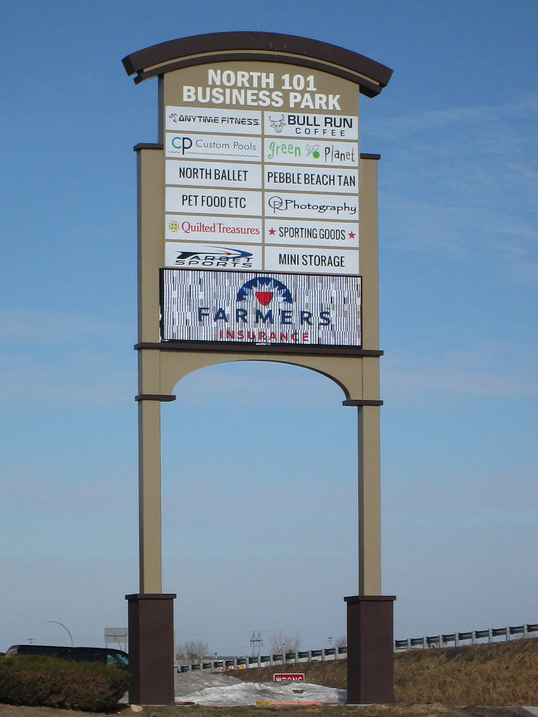 Monument and Pylon Sign Manufacturer Minnesota - DeMars Signs in Coon Rapids MN